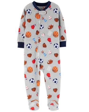 23f1c96c62 1-Piece Sports Fleece PJs - Impresta
